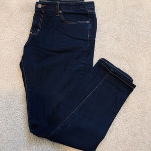 Mossimo skinny ankle jeans